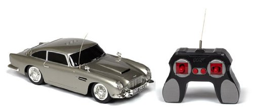 James Bond 007 Licensed Aston Martin DB5 1:18 Electric RTR RC Car