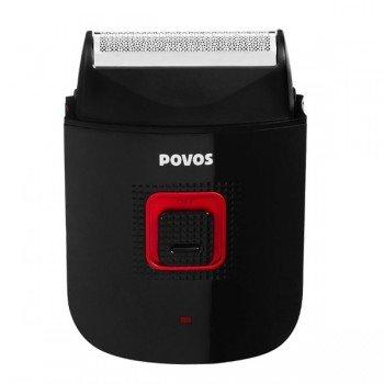 Povos Rechargeable Trimmer Barber'S Salon Mens Electric Shaver Shaving Razor