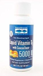 buy Trace Minerals Research Liquid Vitamin D3 Supplement, 1 Ounce