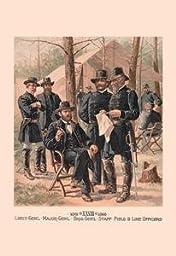 30 x 20 Canvas. Lieut-Gen\'l, Major-Gen\'l, Brig-Gen\'l, Staff, Field & Line Officers