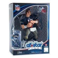 Tom Brady 2008 NFL All Star 9 Inch Vinyl Figure New England Patriots Action Figure... by Upper Deck