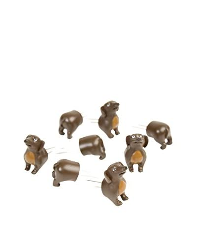 Charcoal Companion Set of 4 Wiener Dog Corn Holders