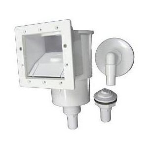 Hayward SP1091LX Dyna-Skim Above-Ground Pool Skimmer and Accessory Kit (Thru Wall Skimmer compare prices)