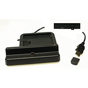 Trendline24 Dual Desktop Sync Charger Dock Docking and Battery Charger For Samsung N7000 Galaxy Note - included Softbag