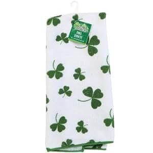 St. Patrick's Day Shamrock Towel