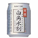 サントリー 白角 水割缶 250ml×24缶