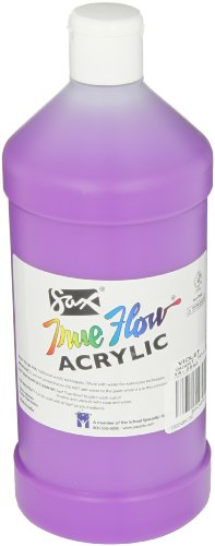 Sax True Flow Medium Bodied Acrylic Paint - Quart - Violet