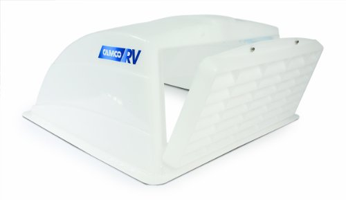 Camco 40431 RV Roof Vent Cover (White) (Travel Trailer Fan compare prices)