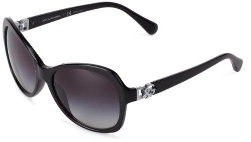 D&G Dolce & Gabbana 0Dg4163P 501/8G Butterfly Sunglasses,Black,57 Mm