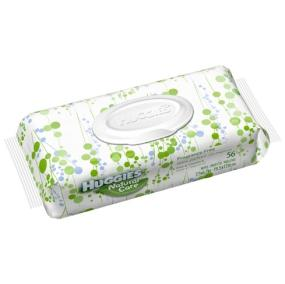 Huggies Natural Care Wipes 64 Count Tub, Now Softer on Your Baby