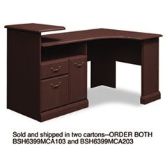 Furniture office furniture corner desk staples corner desk - Storage staples corner ...
