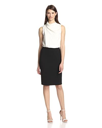 Derek Lam Women's Bicolor Draped Dress