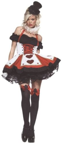 Pretty Playing Card Costume - X-Small - Dress Size 0-2