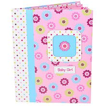 Baby Girl First Record Book Baby Book Flower Pink By Baby Gear Keepsakes