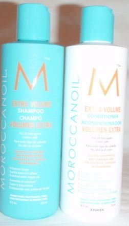 Moroccanoil Extra Volume Shampoo and Conditioner, 8.5 oz each