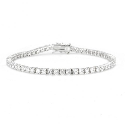 Valentines Day Gifts Bling Jewelry CZ Round Classic