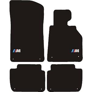 1 series coupe e82 2007 m sport logo39s car mats amazon for Bmw m sport floor mats