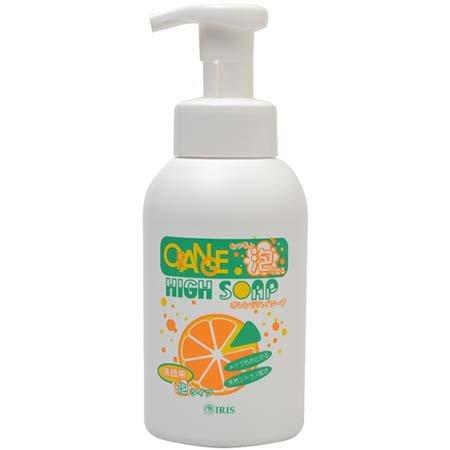 オレンジハイソープ 洗顔用 泡タイプ ポンプ式 400ml スキンケア 泡洗顔料