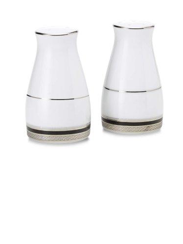 Noritake Austin Platinum Salt and Pepper (Noritake Salt And Pepper Shakers compare prices)