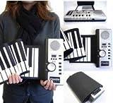 ロール ピアノ クルクルッと巻けてコンパクト収納!! 持ち運び 簡単  VM-SP061