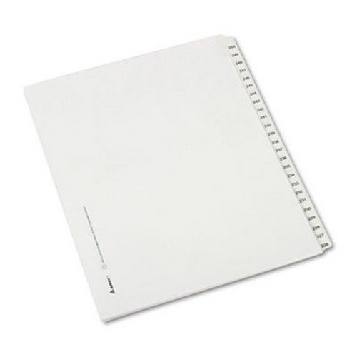 allstate-style-legal-side-tab-dividers-25-tab-226-250-letter-white-25-set