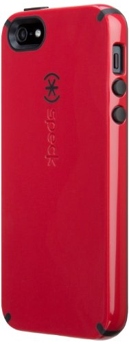 Best Price Speck Products CandyShell Case for iPhone 5 & 5S - Retail Packaging - Pomodoro Red/Black