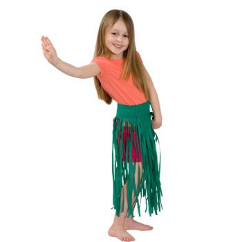 Adjustable Child Luau Skirt