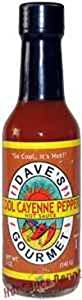 Hot Sauce Depot 60071025 Daves Cool Cayenne Hot Sauce 5oz - Pack Of 3 from Hot Sauce Depot