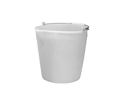 Giganpl Secchio Con Becco Bianco L. 9 7250P2 Giganpl