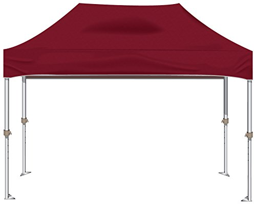 Kd Kanopy Xtf150M Xtf Aluminum Frame Indoor/Outdoor Portable Canopy, 10 By 15-Feet, Maroon