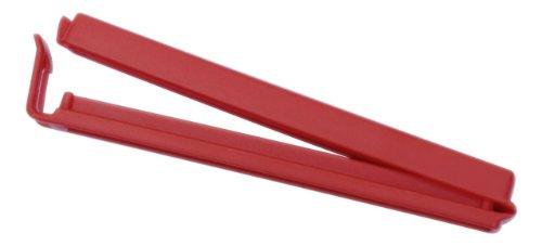 De-Plastik 6074 110 Lot de 6 pinces pour sachets Couleurs variées 110 mm