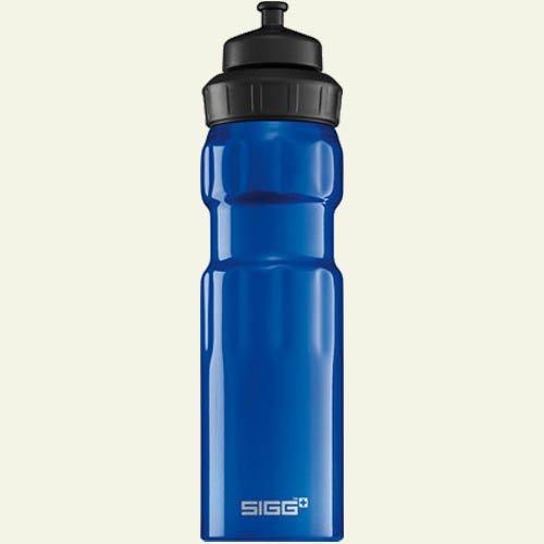 Sigg Wide Mouth Sport Water Bottle (Dark Blue, 0.75-Litre) front-904081