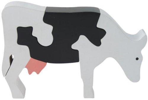 Cheap Fun ImagiPLAY Colorific Earth Dairy Cow Puzzle (#10143) (B001AMH9ZG)