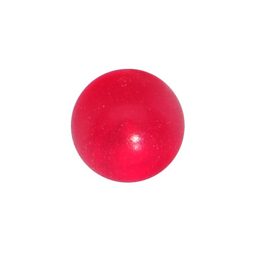 3mm Honeysuckle Red Acrylic Replacement Ball