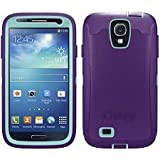 OtterBox Defender Series Case and Holster for Samsung Galaxy S4 - Carrier Packaging - Purple/Blue CustomerPackageType: Standard Packaging Color: Lily
