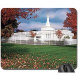 Columbus,Ohio temple Mouse Pad, Mousepad (Religious Mouse Pad)