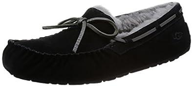 UGG Australia Men's Olsen Slippers,Black,7 US