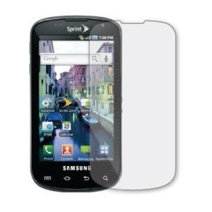 Three LCD Screen Guards / Protectors for Samsung Epic 4G