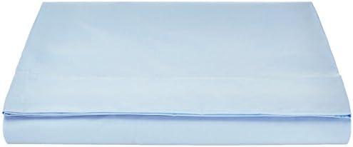 Pinzon by Amazon 'Everyday' Lenzuolo, in 100% cotone, Blu, 180 x 290 + 10 cm