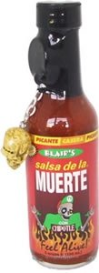 Blairs Salsa De La Muerte With Chipotle Skull Key Chain - 5 Oz by Blair's