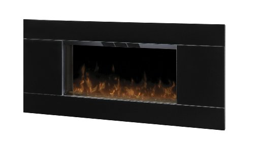 Dimplex DWF-5328B3A Lane Wall-mount 40-Inches by 19-Inches Electric Fireplace, Black