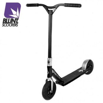 Blunt dirt scooter (ATS) argento, monopattino a due ruote