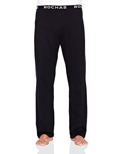 Rochas Pyjamaunterteil schwarz