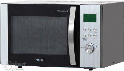 Haier HIL2801RBSJ 28-Litre Convection Microwave Oven (Black)