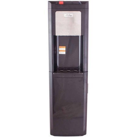 Glacial Taller Black Top-Load Water Dispenser Water Cooler with Refrigerator Bottom (H100 Water Cooler compare prices)