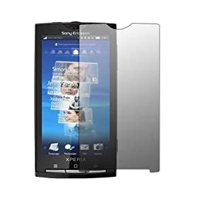 Premium Crystal Clear Screen Protector for Sony Ericsson Xperia X10 [Accessory Export Packaging]: Cell Phones & Accessories