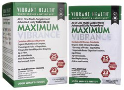 Vibrant Health Maximum Vibrance Single Packets 10 Count