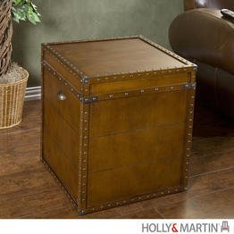 Cheap Holly & Martin Bristol Trunk End Table (01-047-024-3-39)