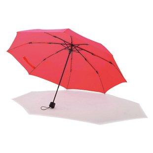 【晴雨兼用】回転する耐風傘 WBU 55cm 無地 (ピンク)