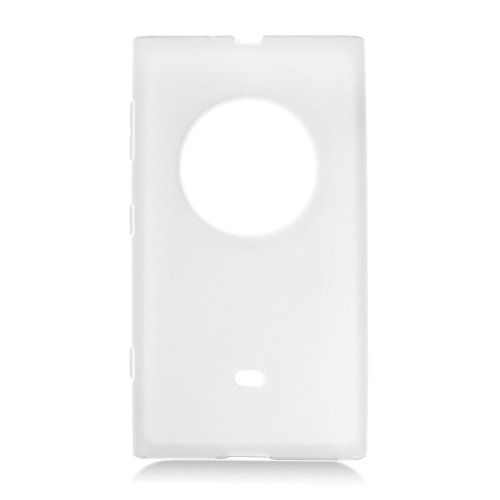 Eagle Cell Nokia Lumia 1020/Elvis Tpu Skin Case - Retail Packaging - Transparent Frosted White